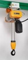 STAR LIFTKET, 250 kg, 1 viteza ridicare, v=12 m/min, carucior electric, 1 viteza, 2 siruri lant