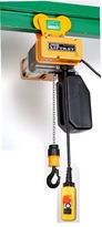 STAR LIFTKET 230V,   WLL= 500 kg, carucior manual, v=4 m/min
